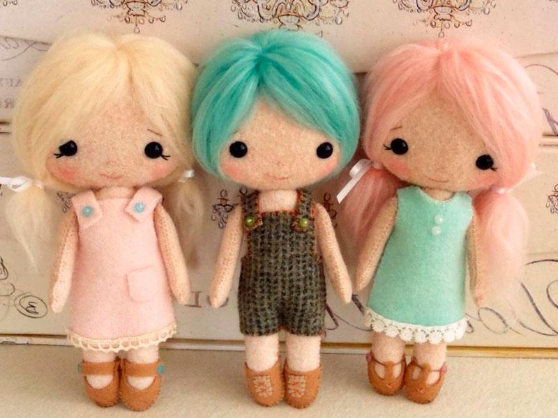 Материалы для создания куклы