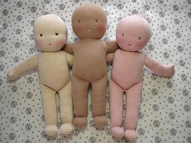 Как создается кукла