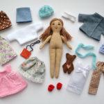 Шьем одежду для куклы